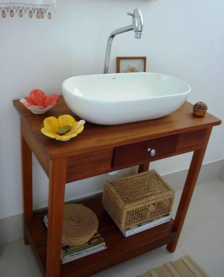 APR 14 – APARADOR RÚSTICO PARA CUBA  Móveis Rústicos São José -> Cuba Para Banheiro Rustico