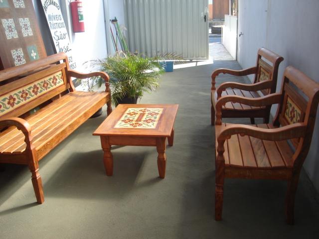 banc 13y jogo de banco 3 lugares 2 poltronas com. Black Bedroom Furniture Sets. Home Design Ideas